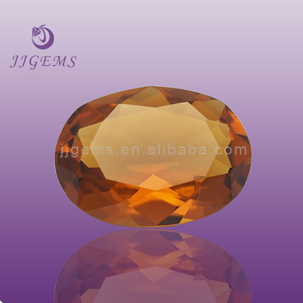 Wholesale machine cut crystal clear glass stone