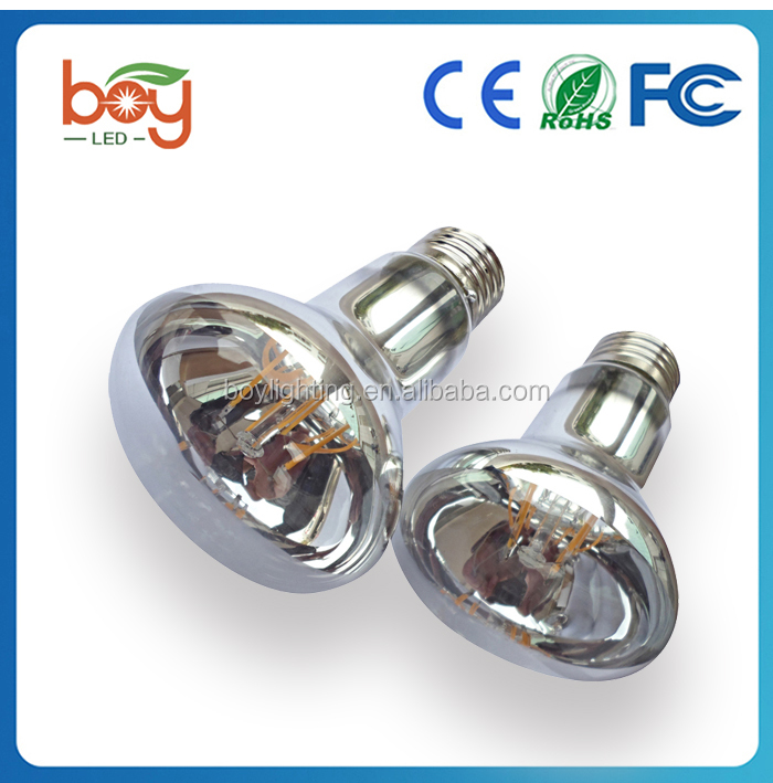LED silvery mirror top R63 4Watt E27 2800K Find great deals on alibaba for led e27 r63 led e14 220v