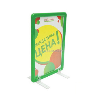 A3 A4 A5 Plastic Advertising Frame With Plastic Stands - Buy Plastic ...
