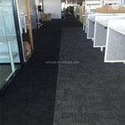 High quality carpet tiles with PVC backing