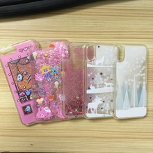 Mobile Phone Accessories, Quicksand Glitter Cell Phone Case For Iphone