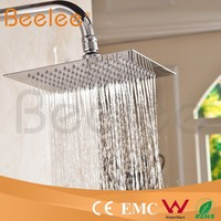 Bela Company SS 304 Bathroom Shower Stainless Steel Top Square Rain Shower Head
