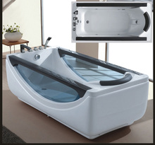 Freestanding type installation and triangle spa hot tub bathroom whirlpool massage bath tub