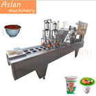 automatic cup box filling and sealing machine/Instant Coffee Powder Making Machine/ 2 filling heads coffee cup filler