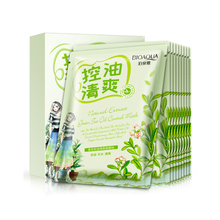 OEM Bioaqua Green Tea Extract Mask face care products smoothing face mask