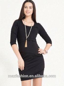 1e70b8edcbcb8 China Factory Breastfeeding Clothes,Cotton Design Maternity Wear,Hot-sale  Maternity Nursing Dress