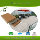 140mm * 25mm Wpc Decking interligadas para ao ar livre