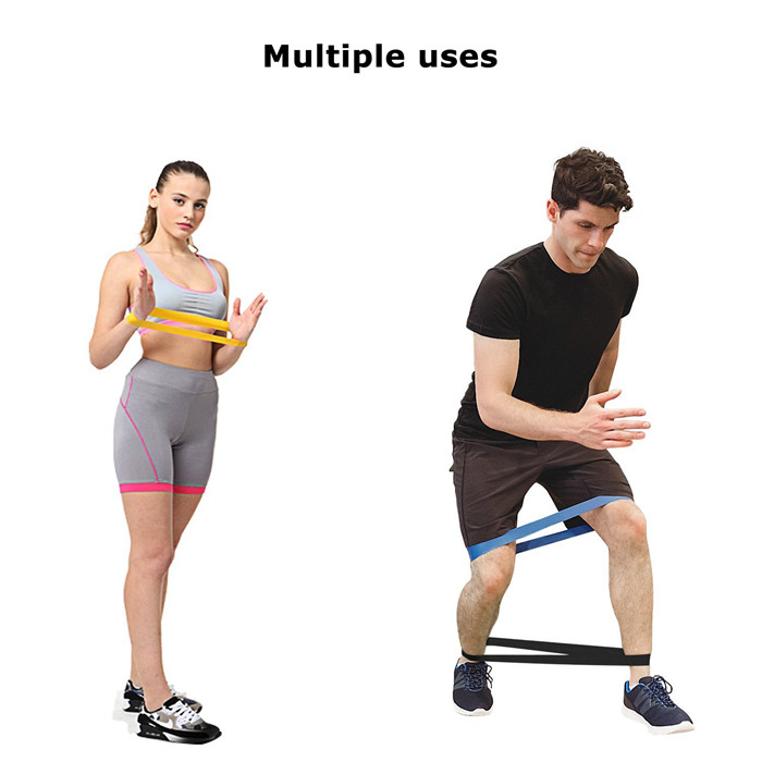 2017 Hot sale latex exercise resistance band set