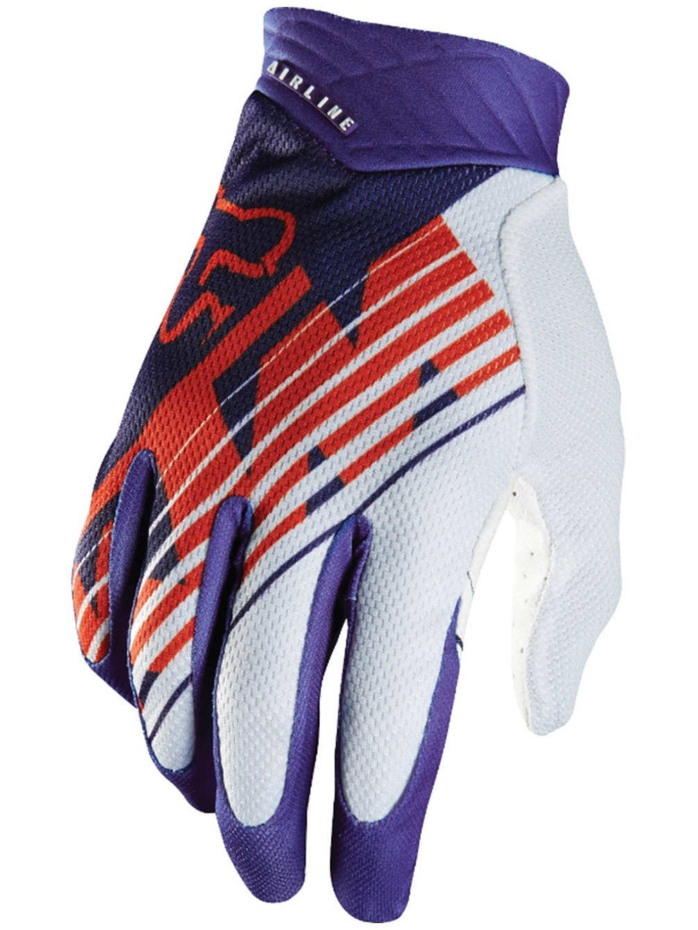 Fox Racing KTM Airline Men's MotoX Motorcycle Gloves - Purple / Medium