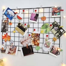 YiWu--OYUE Beautiful Grid Photo Wall,  Grid Panel Metal for Home Decor grid wall
