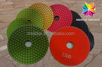 factory offer marble floor wet polishing pads