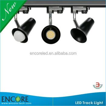 E27 E26 Base A19 Led Bulbs Track Lighting Fixture Brushed Nickel Product On