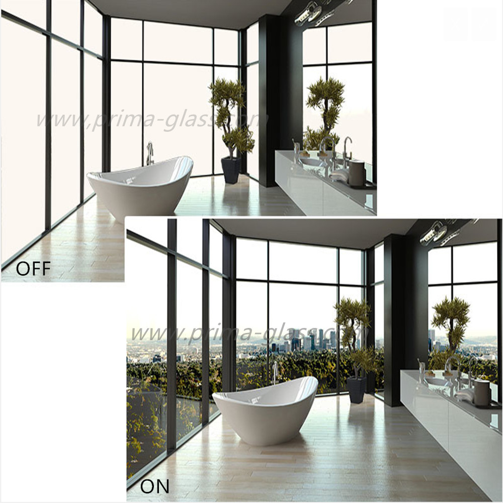 Prima Wide Vision electric control glass tempered smart glass