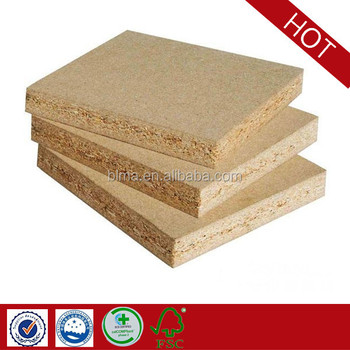 China Wood Bage Low Price Plain Particle Board With Best