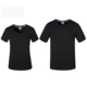 Fashion Odell Icy Plain Black Mens Round Neck T shirts