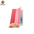 Custom 2017 new 9.7 inch PU leather three folding tablet pc case for ipad