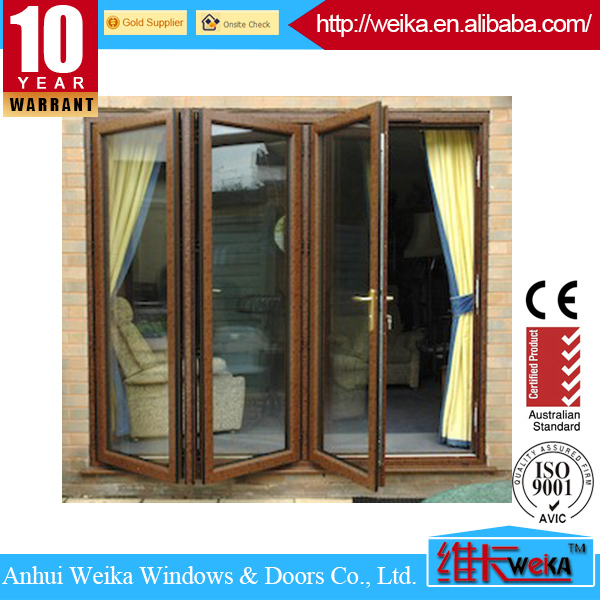 Quality OEM upvc interior folding doors