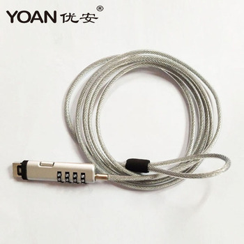 New products 2018 innovative product the combination usb cable lock