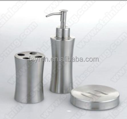 5 st ck edelstahl badezimmer set bad zubeh r set anlagen des badezimmers produkt id 474668266. Black Bedroom Furniture Sets. Home Design Ideas