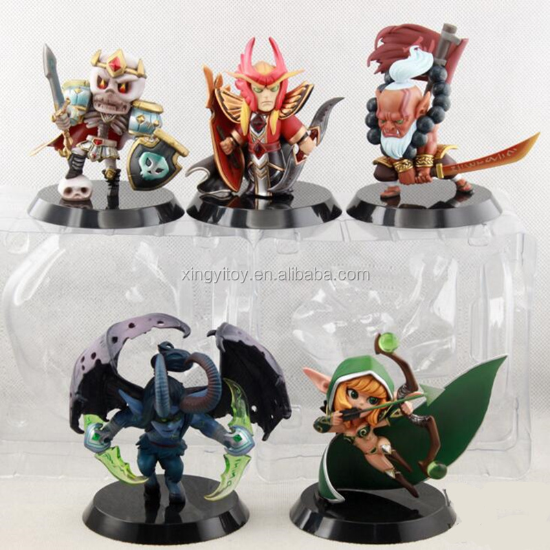 Defense of the Ancients Dota 2 Soul Keeper/Silencer/Juggernaut game toy action figures