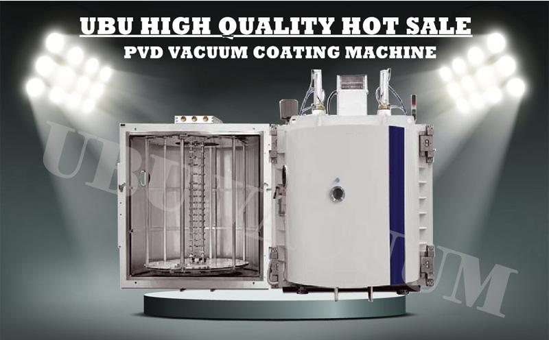 Aluminium coating pvd vacuum metallizing machine