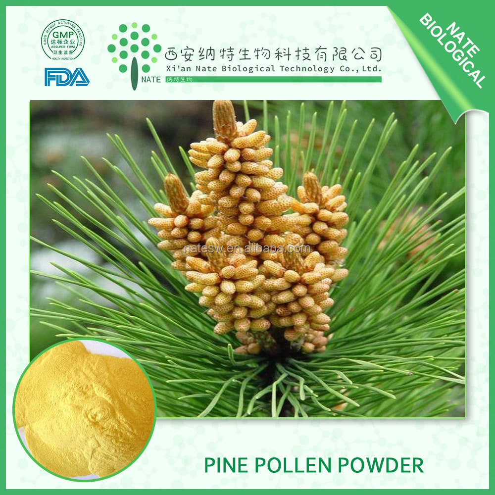 Pharmaceutical grade Plant Extract natural cell wall broken bulk Pine Pollen Powder
