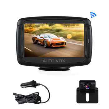 TELEC digital wireless car lcd monitor car reverse monitor for car