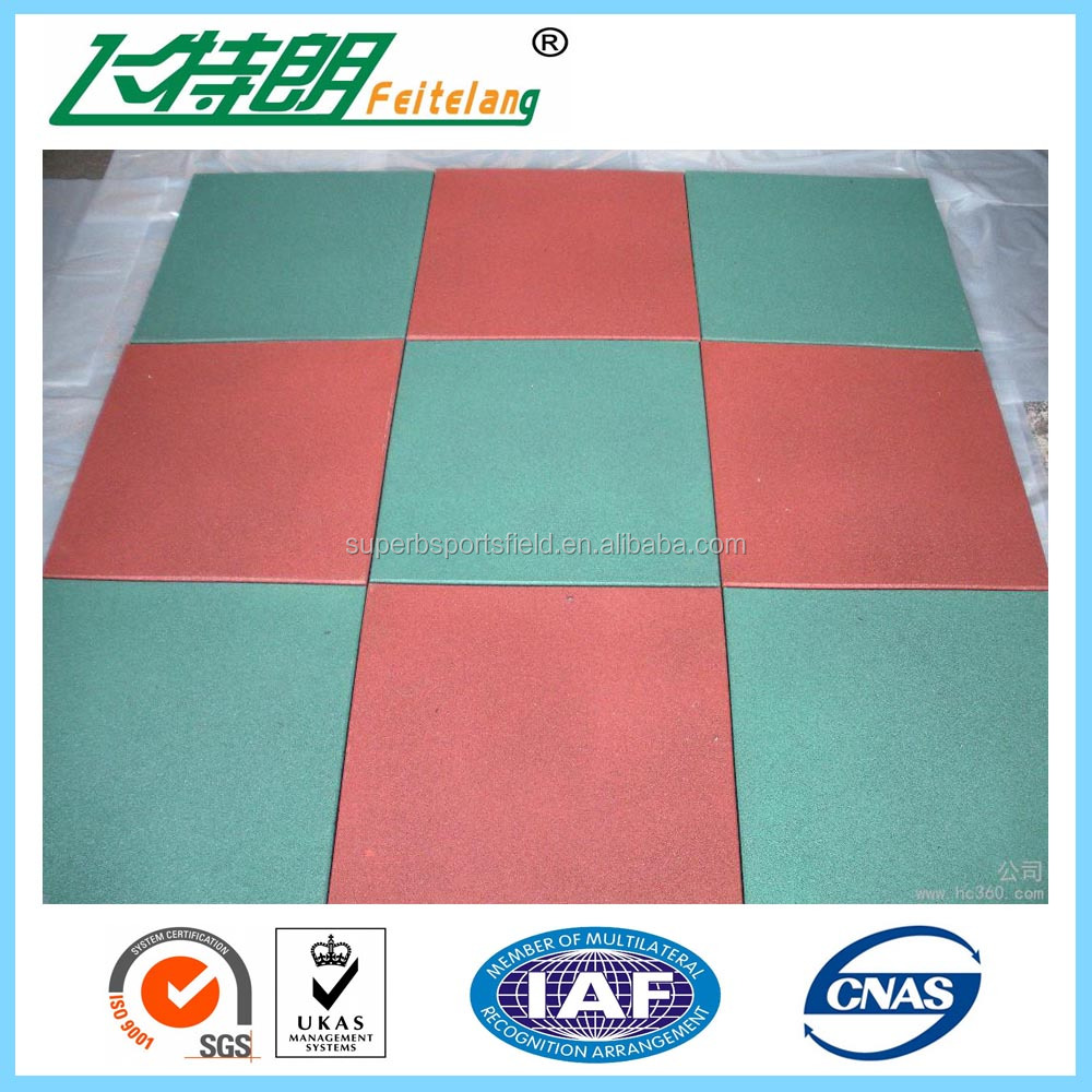 athletic track / pathway Rubber Mats Safety Rubber Mat Flooring Type Rubber Mat