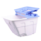 Euro Office Recycle Commercial Industrial Plastic Garbage Container Rubbish Bin Trash Can Dumpster With Wheels