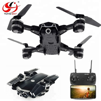 Toysky S161 New Release 16 Mins Long Flight time Folding Video Drone Quadcopter with 720P Wide angle hd camera VS S168 JY019