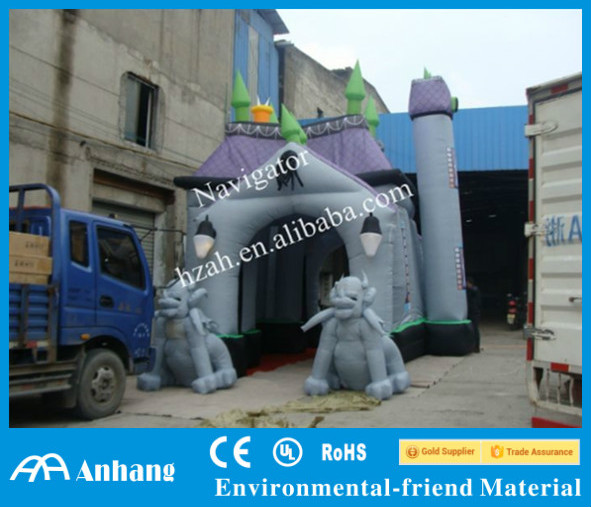 Customized Halloween Inflatable Haunted House Decoration