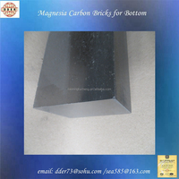 FC high refractoriness porosity magnesia carbon refractory bricks