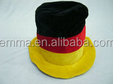 Funny Germany Flag Top Hat Football Fan Hat High Quality Carnival Party Hat HT2705