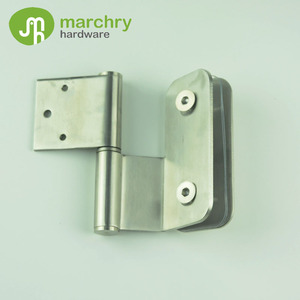 MH-1146 One Side Glass and One Side Wall Glass Door Hinge