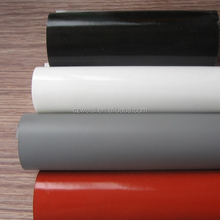 woven glass fabric coated silicon, fiberglass cloth with silicon
