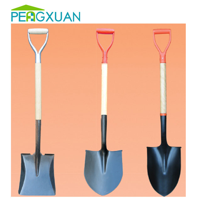 China wholesale eucalyptus wood handle spade wooden stick for snow shovel