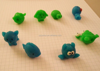 Plastic Aniaml Pets Characters Squeeze Pencil Topper Rubber Bird ...