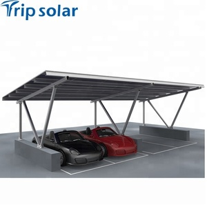 Factory Price Small Solar Shed For Car Parking