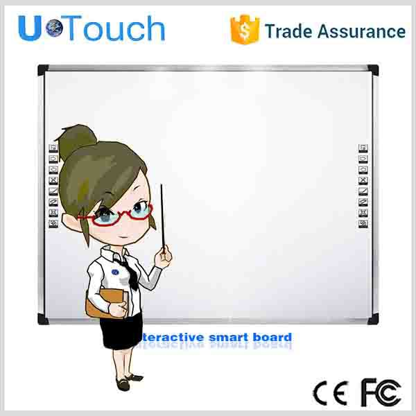high quality 70'' 82'' 85'' 92'' 99'' high resolution and high accuracy smart board/economic white/infrared induction whiteboard
