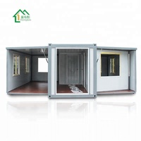 China wholesale 20ft modern insulated prefab luxury australia expandable container house