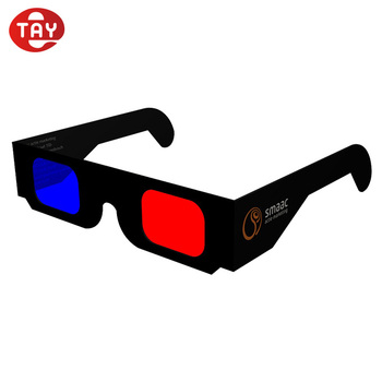 f9ed05ef5a1 Custom Logo Paper 3d Glasses   Anaglyph Glasses For Tv Viewing - Buy ...