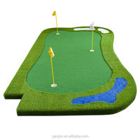 Customized mini golf putting green & mini golf course 18 holes