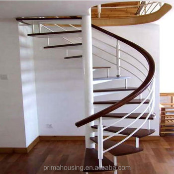 Prefabricated Portable Aluminum Spiral Stairs