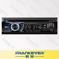 FrankEver 4 Channels Car DVD/CD/MP3 Player Bluetooth Radio Player