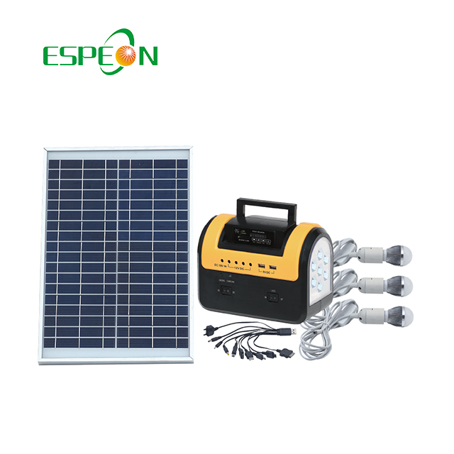 5w Solar Energy System Home Kit With Fm Radio And Mp3 Player Home Solar  Lighting System - Buy Solar Energy System,5w Solar Energy System,Solar  Energy