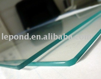 OG Edge Tempered Glass Table Top/round Glass Table Tops