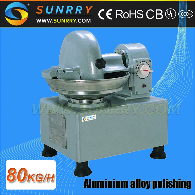 Restaurant Heavy Duty stainless steel bowl meat cutter machine for sale