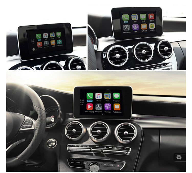 Unichip Carplay e Android Auto Attivatore per Mercedes Apple Carplay W205 W253
