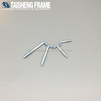 L Screw Hooks For Picture Frame Hanging - Buy Heavy Duty Screw Hook ...