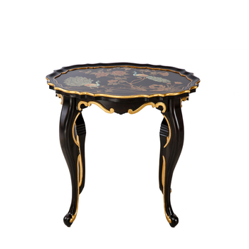 Mini Oval Furniture Coffee Table Antique Side Table Sets Phoenixes Room Bed Side Table For Luxury Home Decor Buy Home Furniturewood Tabledining
